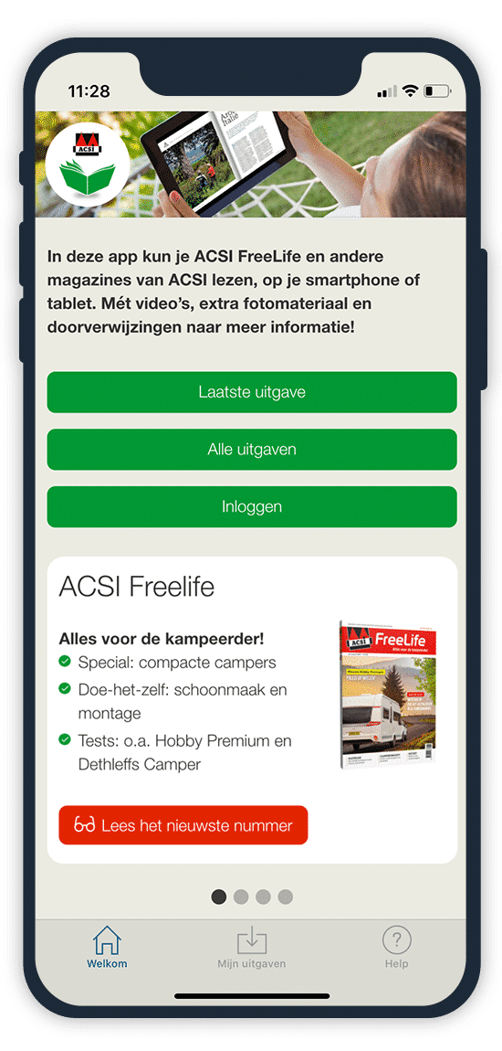 Lees alles over: tent | ACSI FreeLife