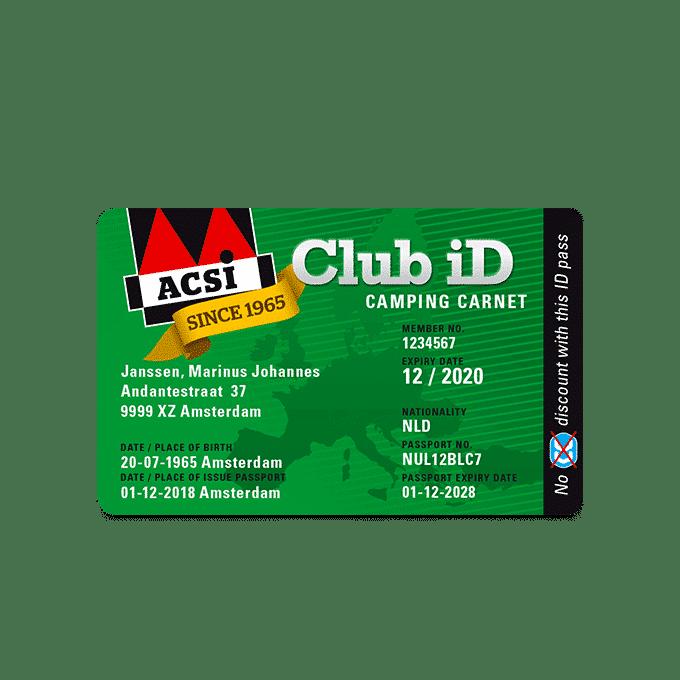 ACSI Club ID