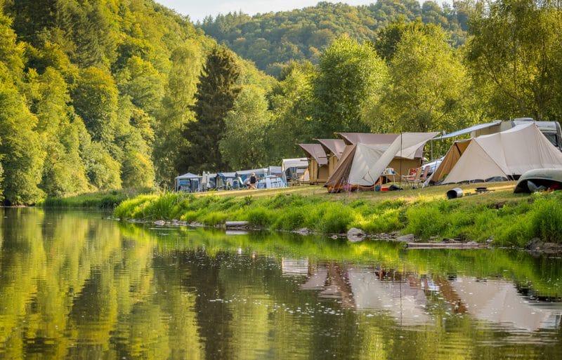 Camping aanmelden